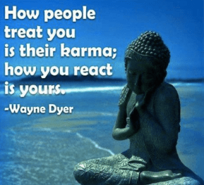 Be mindful of your reaction