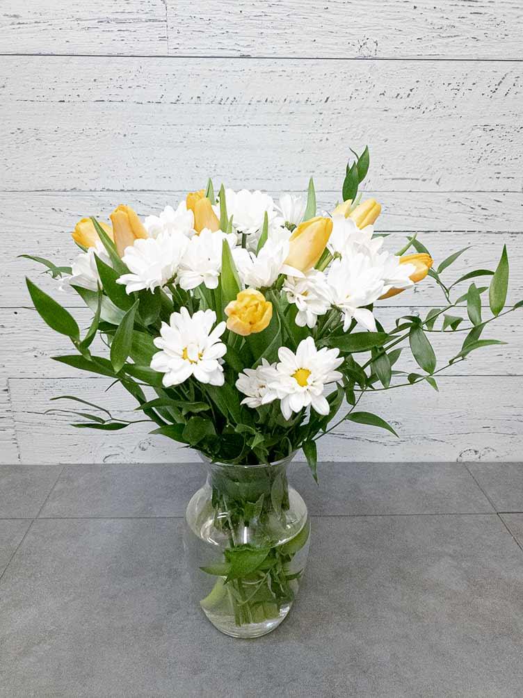 Bouquet Journée de la femme - 02 - Fleuriste Coin Vert | Montréal