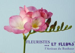freesia rose fleuristes et fleurs artisan du bonheur