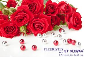 roses rouges fleuristes et fleurs artisan du bonheur