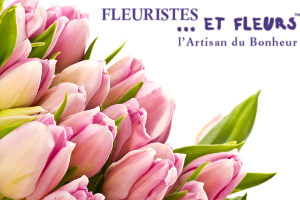 tulipes roses fleuristes et fleurs artisan du bonheur
