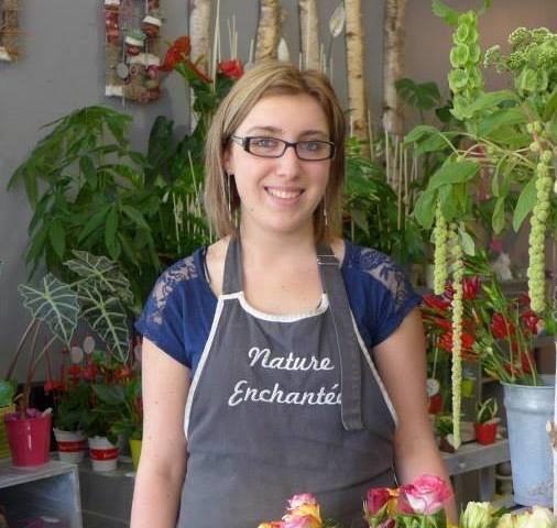 Sophie houmeau fleuriste a vouillé , artisan du bonheur chez fleuristes-et-fleurs.com