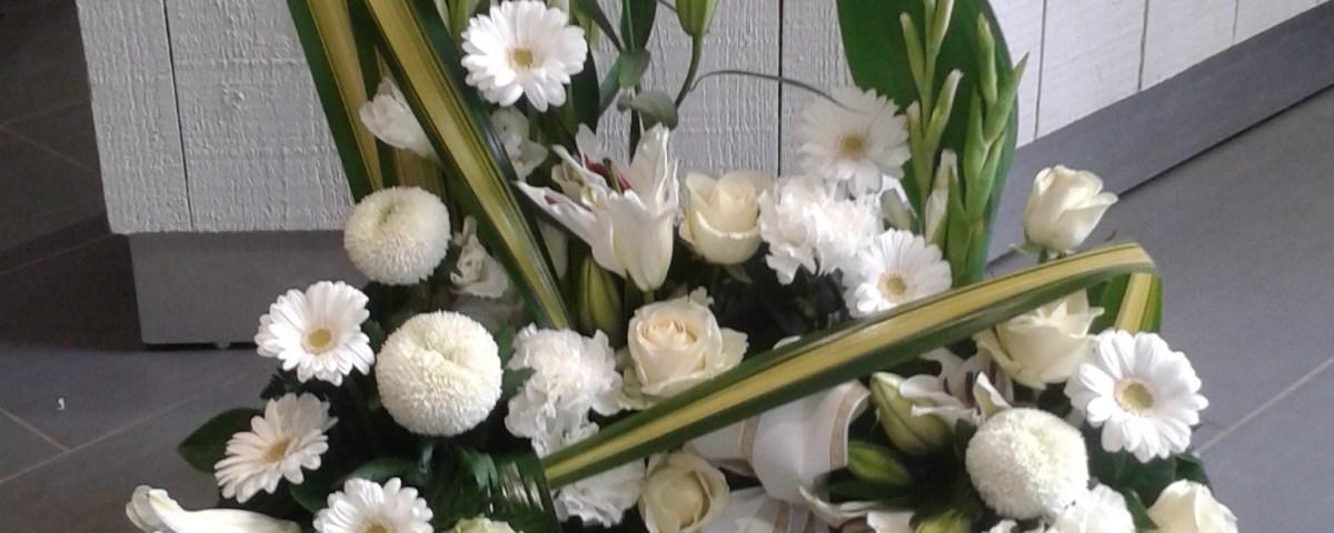 composition florale par Audrey pour BRINDILLES fleuriste à Bannalec-29380
