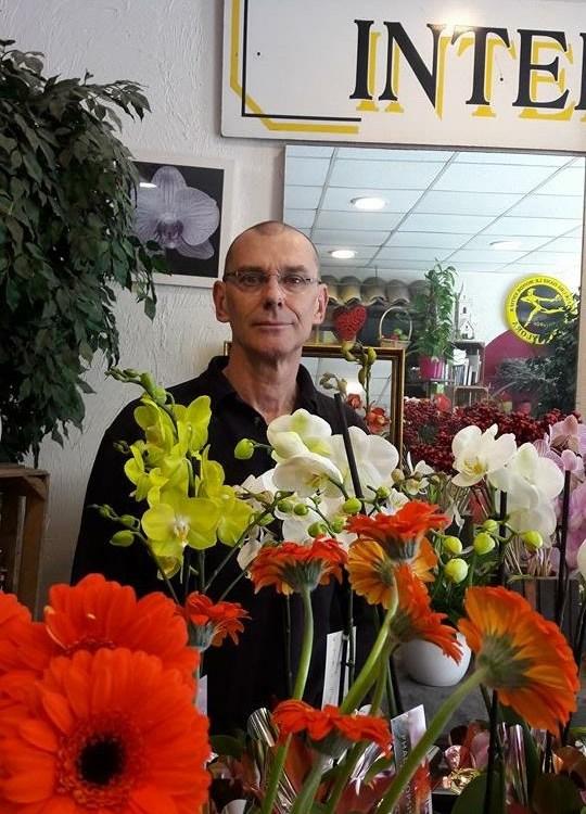 """Pierre Guillot pour """"O Reve Floral"""" fleuriste à Saint Laurent de Var-06700"""