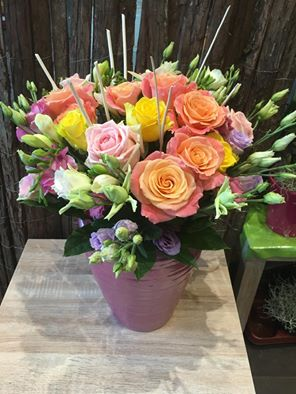 bouquet de fleurs par Céline pour Fleurs de la Passion fleuriste à Martigues-13500