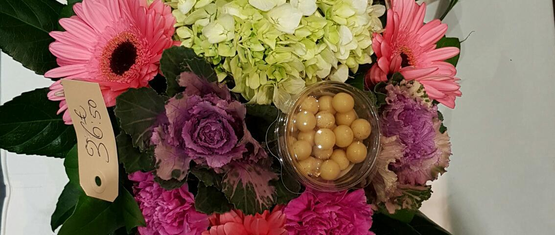 bouquet par Jean-Michel pour le jardin de Cecilia fleuriste à Esbly-77450