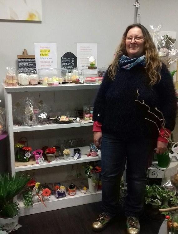 """Votre artisan fleuriste à Morlaàs (64160), Virginie pour """"Au Sabot de Vénus"""""""
