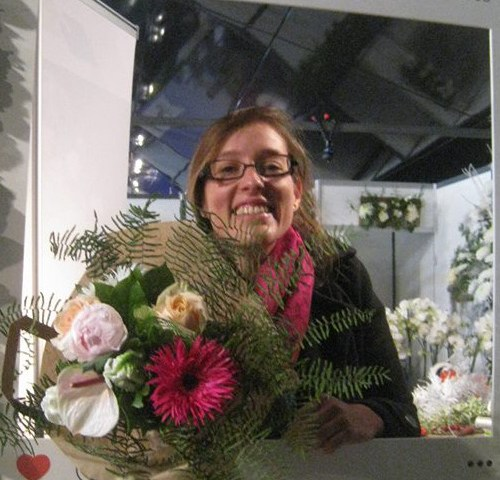 Anne -Sophie pour Folie'Florale à Dumes