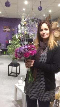 """Alexandra pour """"Floralex"""", Artisan Fleuriste à La Roche des Arnauds - 05400"""