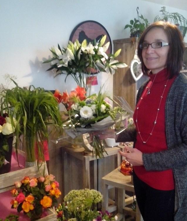 Stéphanie pour Jardin d'idée fleuriste à Chaingy-45380