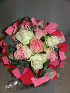 Bouquet par Fol'Artmonie fleuriste à Gap-05000
