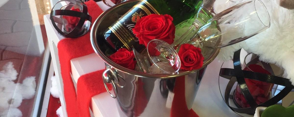 Composition par Sylvie pour La vie en rose fleuriste à Saint Alban-31140