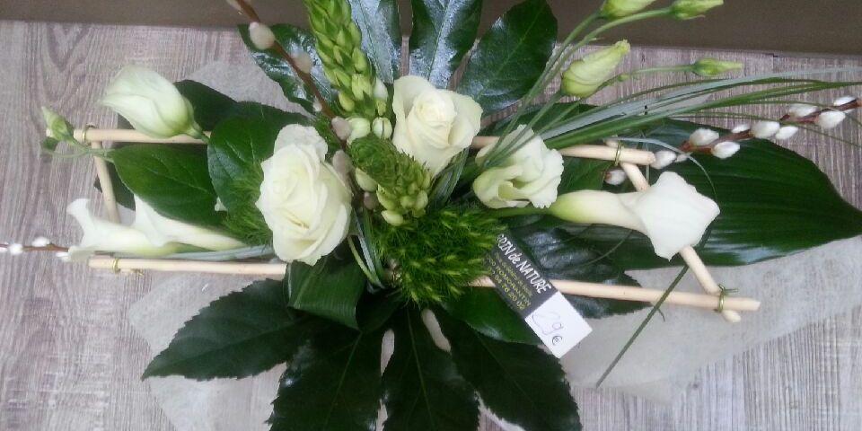 Bouquet par Brin de Nature Artisan fleuriste à Romorantin Lanthenay