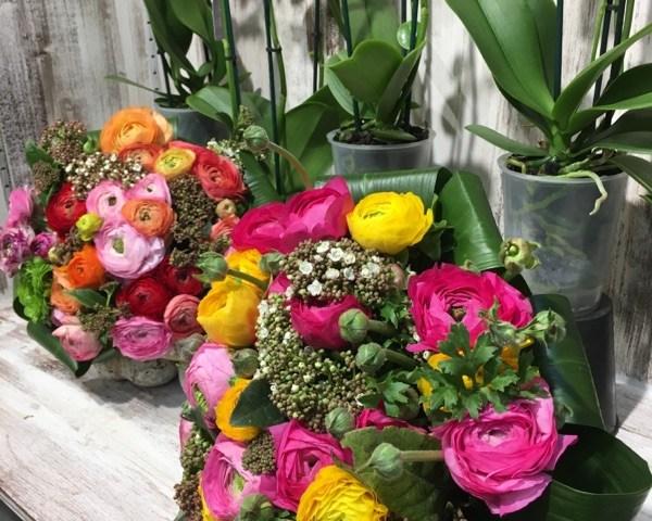 Bouquet par PLUIE DE FLEURS Artisan Fleuriste à Milly la Forêt 91490