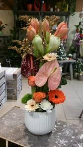 composition par Histoire de fleurs à Marmagne-18500