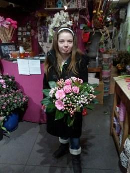 Elodie, gagnante du jeu Youpi Fleurs, tirage du mercredi 11 janvier 2017