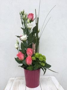 composition par Virginie fleuriste à Urcuit-64990