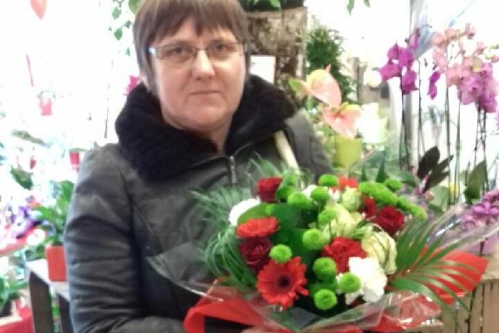 Annie, gagnante du jeu Youpi Fleurs, tirage du mercredi 25 janvier 2017