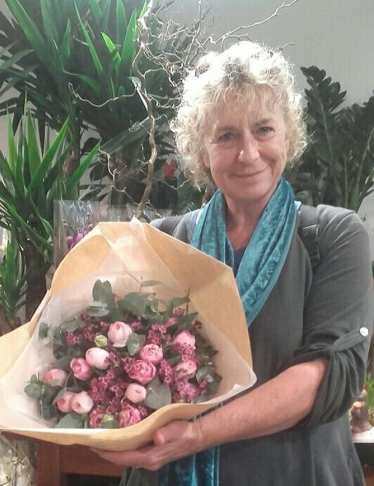 Chantal, gagnante du jeu Youpi Fleurs, tirage du mercredi 29 mars 2017