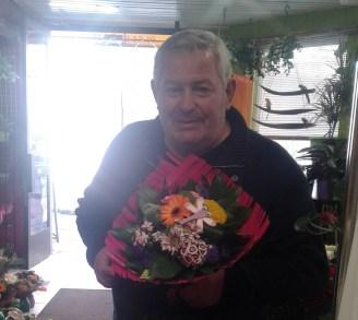 Francis, gagnant du jeu Youpi Fleurs