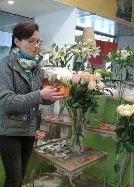 """Votre artisan fleuriste à Semur en Auxois (21140), Martine pour """"Tournesols"""""""