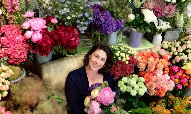"""Votre artisan fleuriste à Aillant sur Tholon (89110), Johanna pour """"l'Herbier"""""""