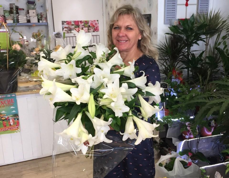 """Votre artisan fleuriste à Sedan (08200), Mireille pour """"Reine Des Prés"""""""