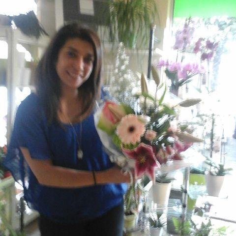 Stéphanie, gagnante du jeu Youpi Fleurs