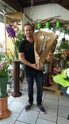 Loïc, gagnant du jeu Youpi Fleurs