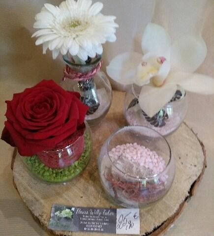 Envoyer des fleurs à Donzy avec votre fleuriste Fleurs Faber