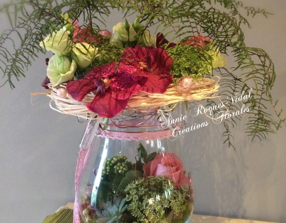 Envoyer des fleurs à Murat sur Vèbre avec votre fleuriste Creations Florales - Annie Roques-Vidal