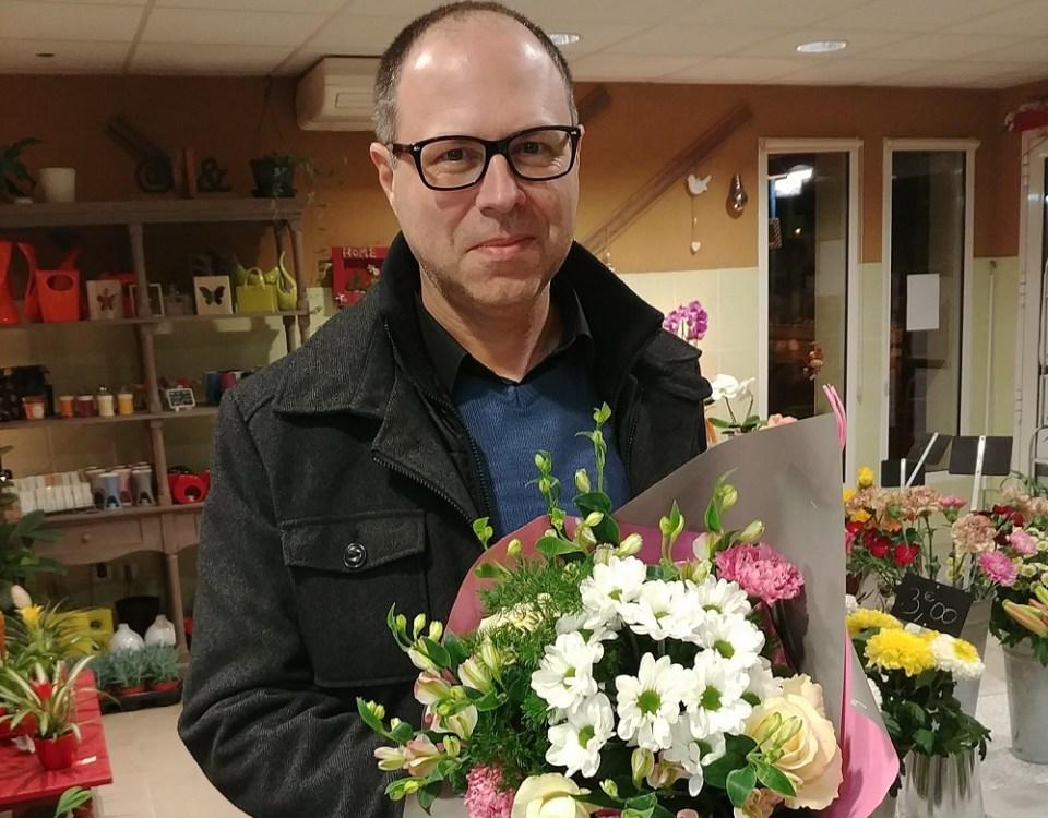 Frédéric, gagnant du jeu youpi fleurs