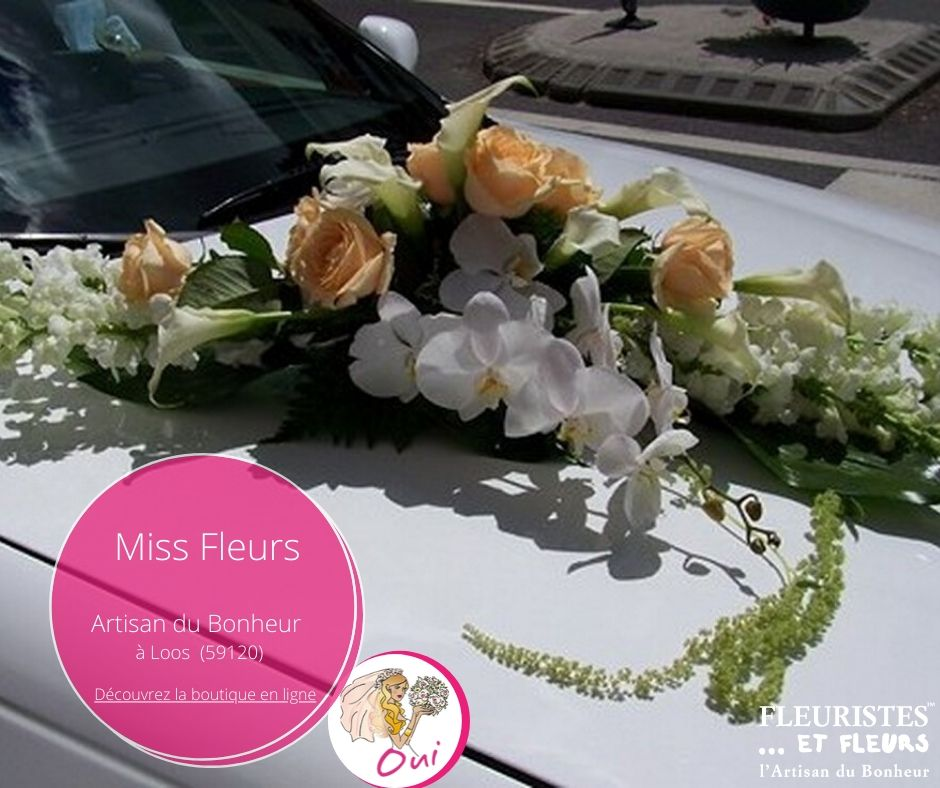 voiture mariage loos