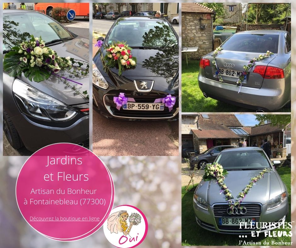 voiture mariage fontainebleau