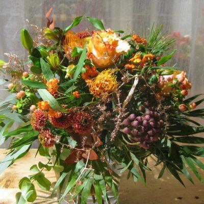 b.cornut fleuriste Orange sauvage