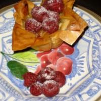Recept #4: citroen-passievrucht taartje met frambozen (toetje)