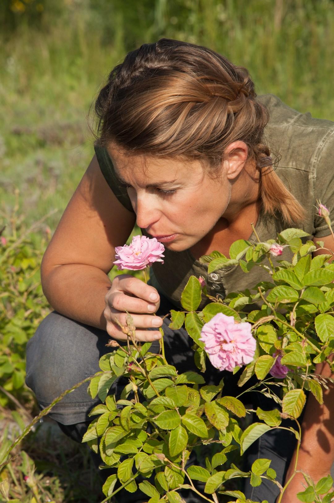 Lucie Fleury_exploitante agricole biologique, Alpilles provence