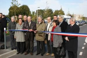 Inauguration de la liaison Caen - Fleury-sur-Orne - Ifs