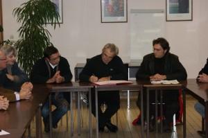 Signature de la convention avec l'IME