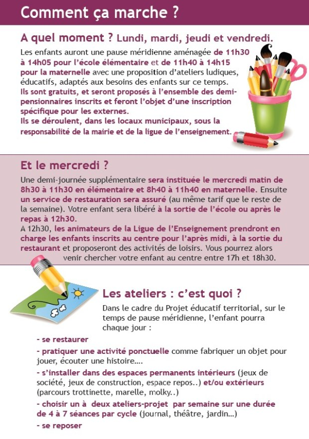 Rythmes scolaires 2