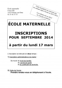 inscriptionsmaternelle2014