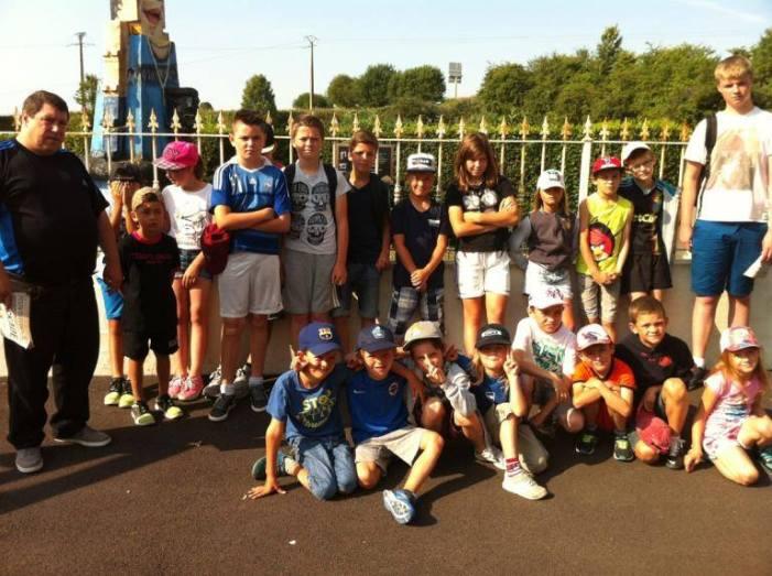 Le stage foot à Festyland