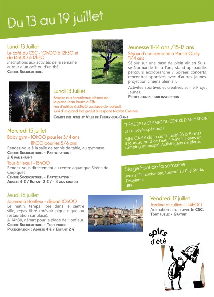 Plaquette des activités été juillet 2015-5