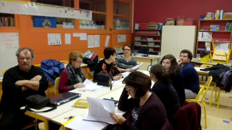 Délibérations du jury pour le concours de nouvelles des collégiens