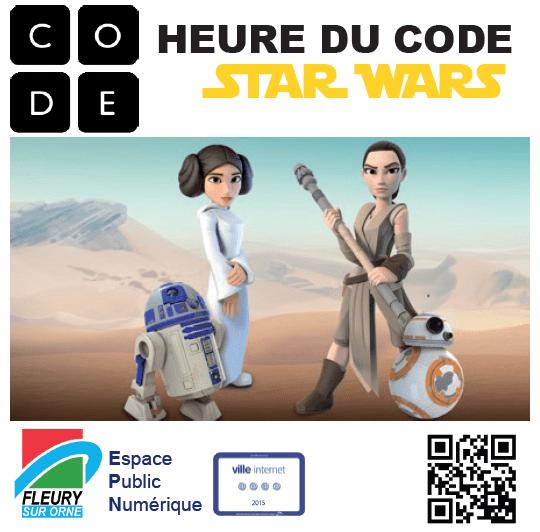 Heure du code Star Wars