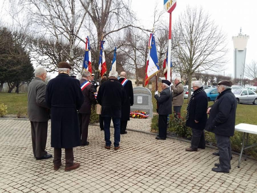 Cérémonie du souvenir et de recueillement ce matin à la mémoire des victimes civiles et militaires de la guerre d'Algérie et des combats en Tunisie et au Maroc