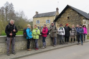 La randonnée du 20 mars à Bretteville-sur-Laize