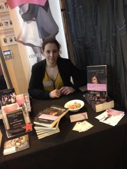 Sarah SLAMA au salon du livre de Paris