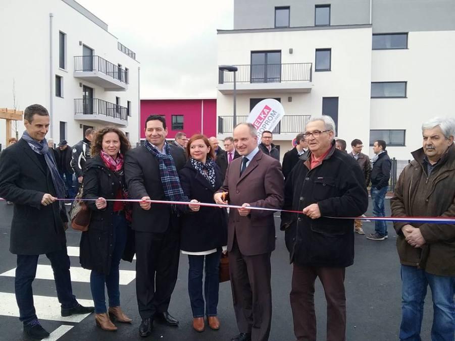 Inauguration de la résidence EPICEA et des maisons NORDMANN