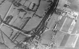 Photo aérienne du 15 juin 1944